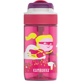 Kambukka Lagoon Bottle 400ml Kids, flying supergirl